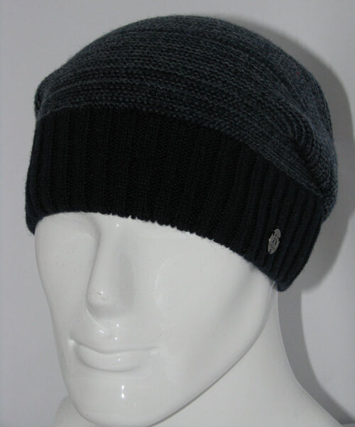 Вязаная шапка мужская Vento-V-701-706