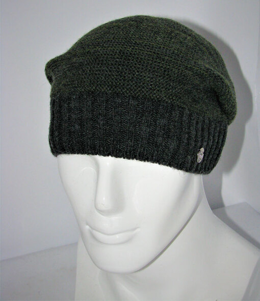 Вязаная шапка мужская Vento-V-702-713
