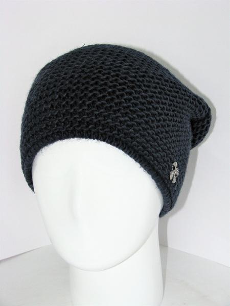 Женская вязанная шапка Malvina KT-3624