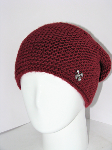 Женская вязанная шапка Malvina KT-6567